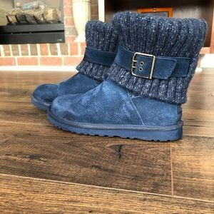 💥Free shipping💥 Suede UGGS with sweater upper